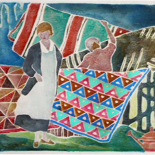 Quilts (1917) by Ada Gilmore