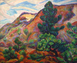 Hills and Pine by Oliver Chaffee