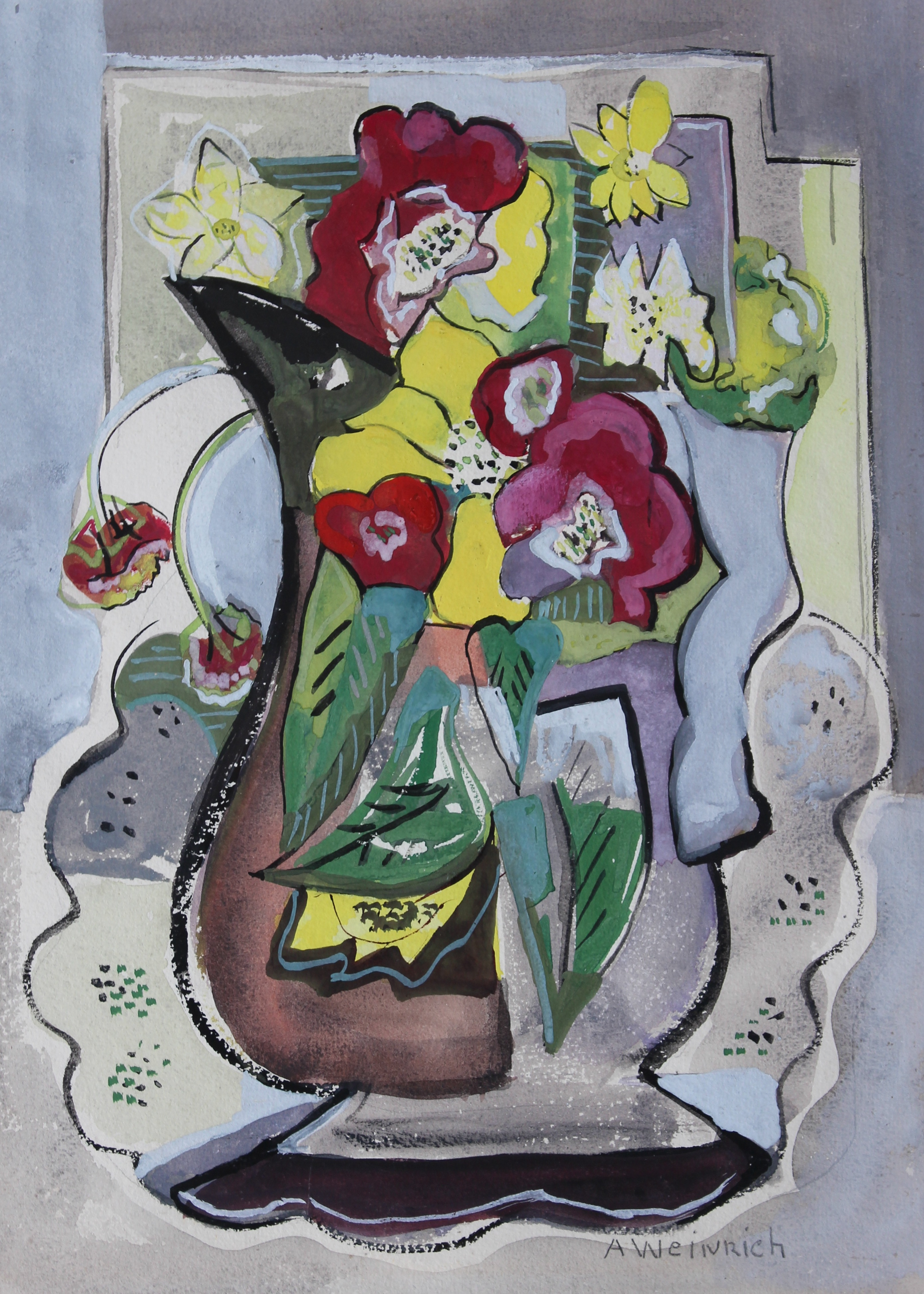 Untitled [Flowers in Vase]