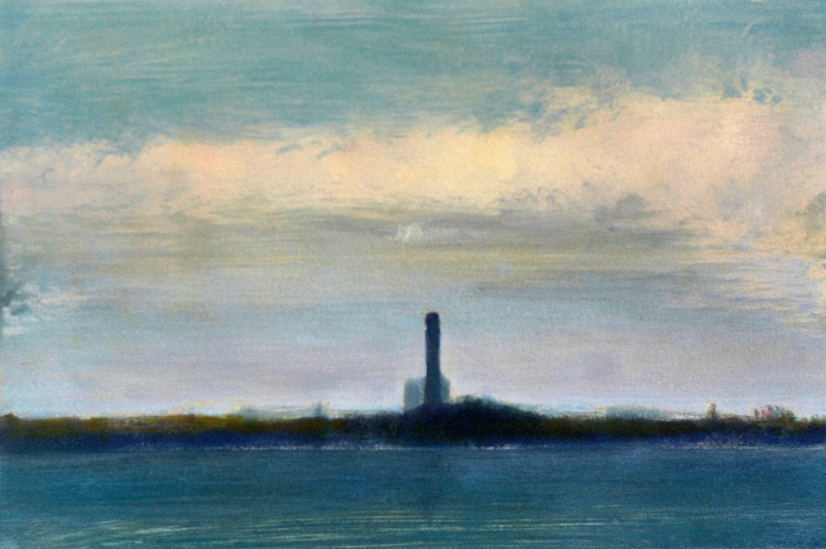 'Provincetown with Sunlit Cloud'