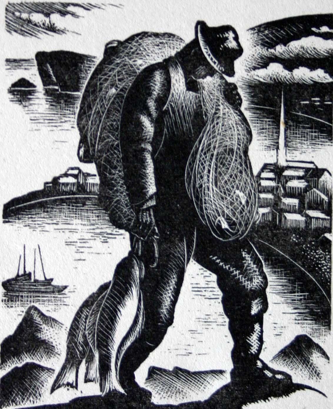 """""""Gaspe Fisherman"""""""