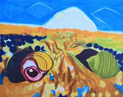 'Periwinkles on Seaweed Bed'