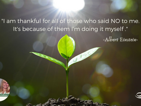 I am thankful for all of those who said NO to me!!