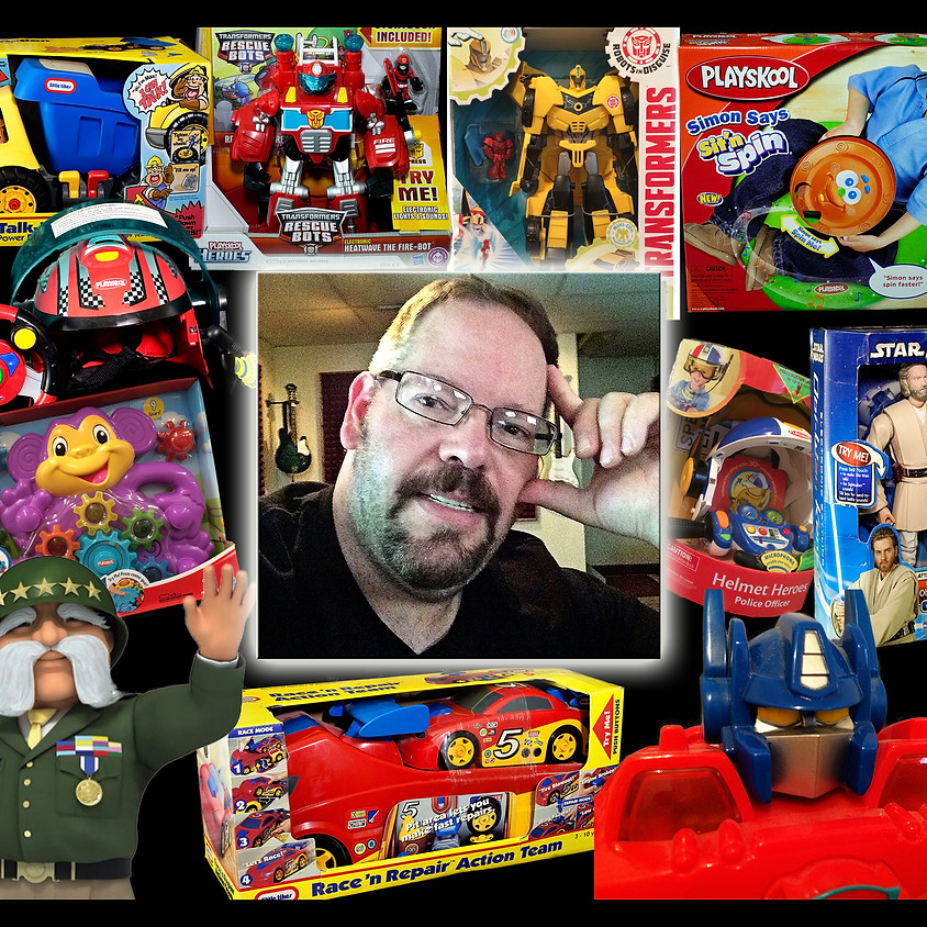 Voiceover for Toys with Rick Sellers