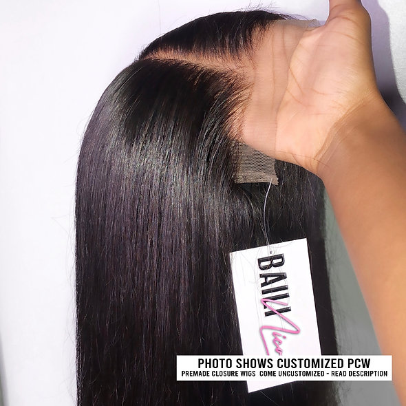 Premade Closure Wigs