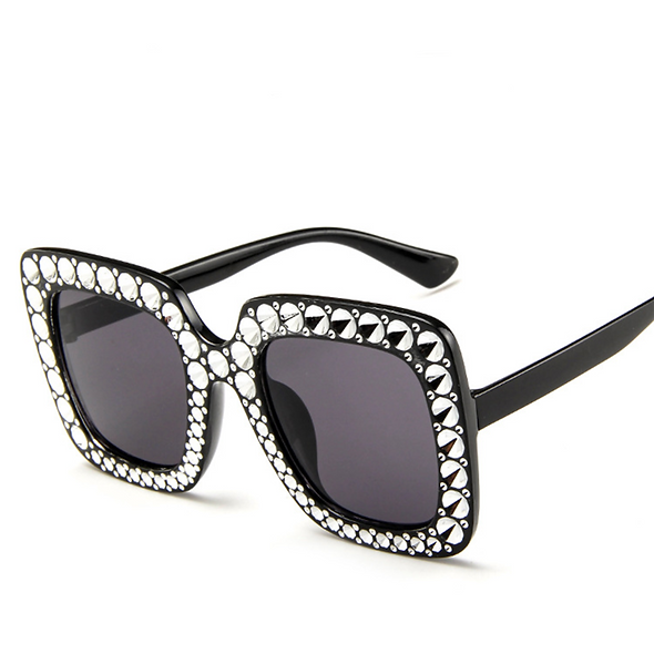Bling'd Out Shade - Black