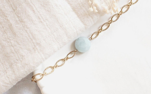 Bracelet - Pierre Amazonite