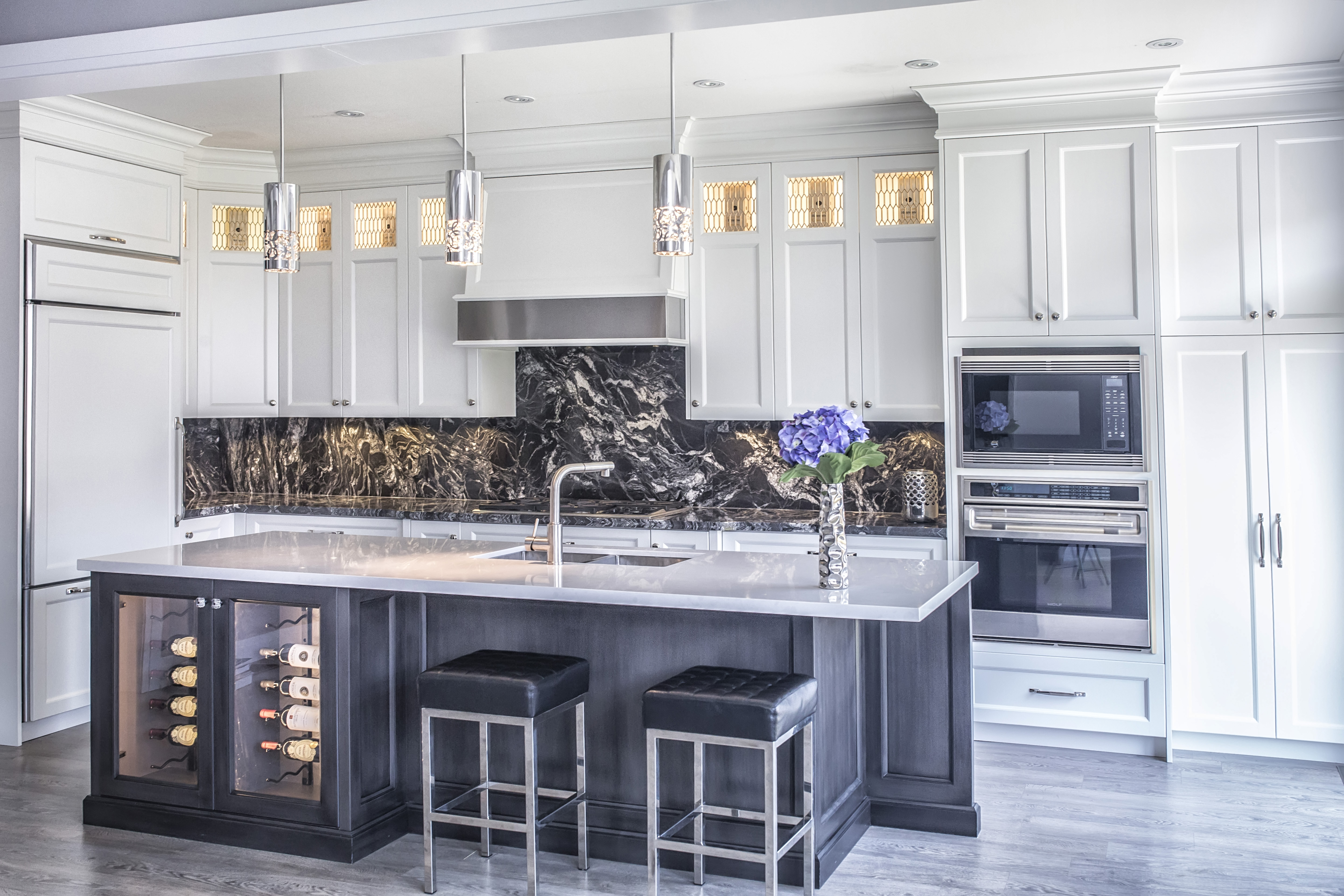 Full-heigh Backsplash