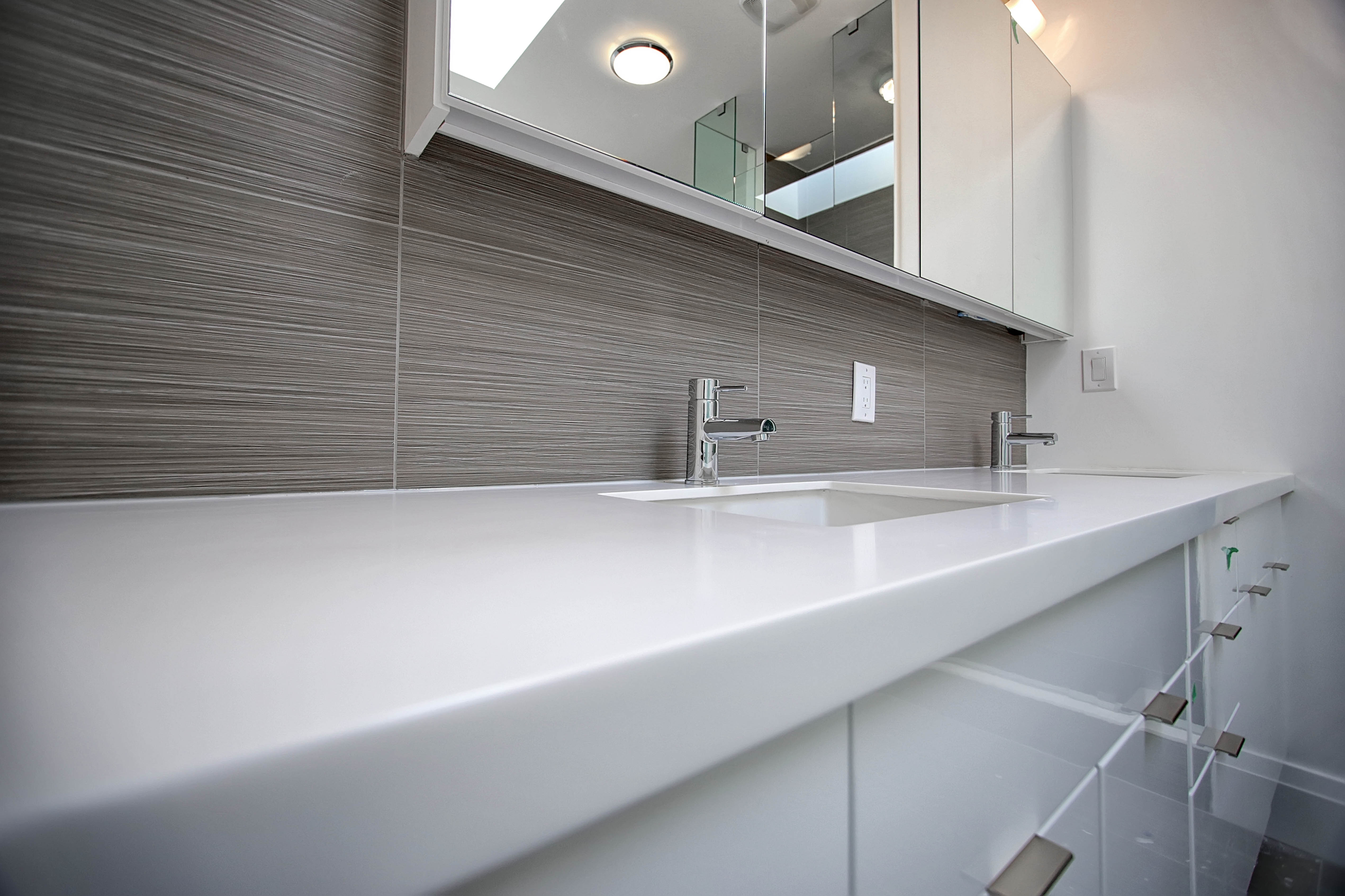 Solid Surface Vanity