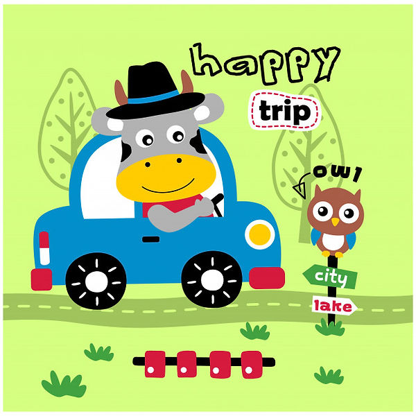 cow-driving-car-funny-animal-cartoon_413