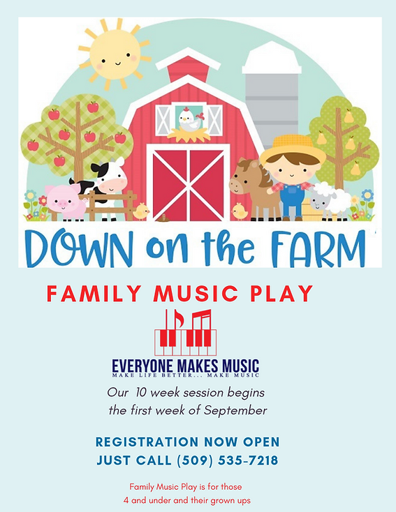 Family Music Play at Everyone Makes Musi
