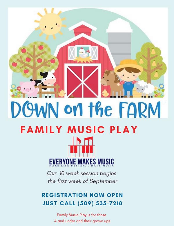 Family Music Play at Everyone Makes Musi