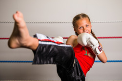 10-Year-Old Kickboxer