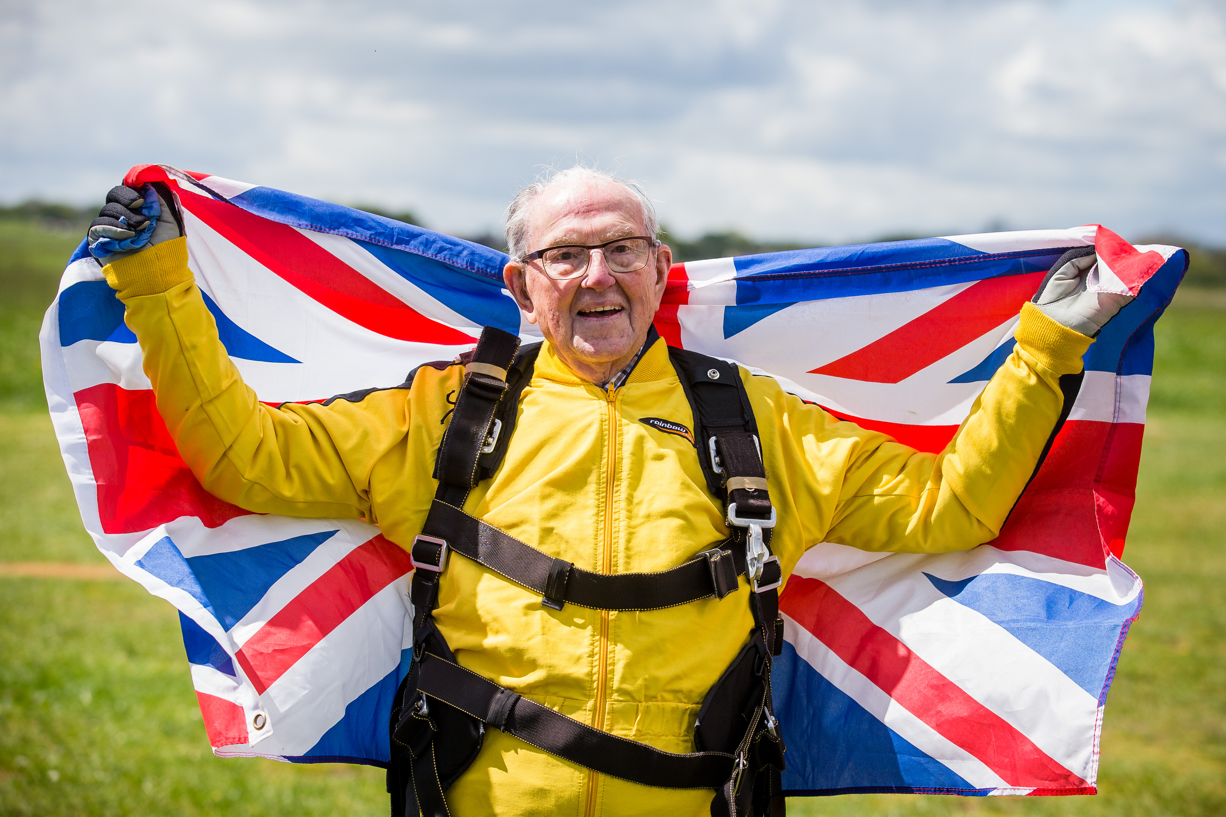101-Year-Old Sky Diver