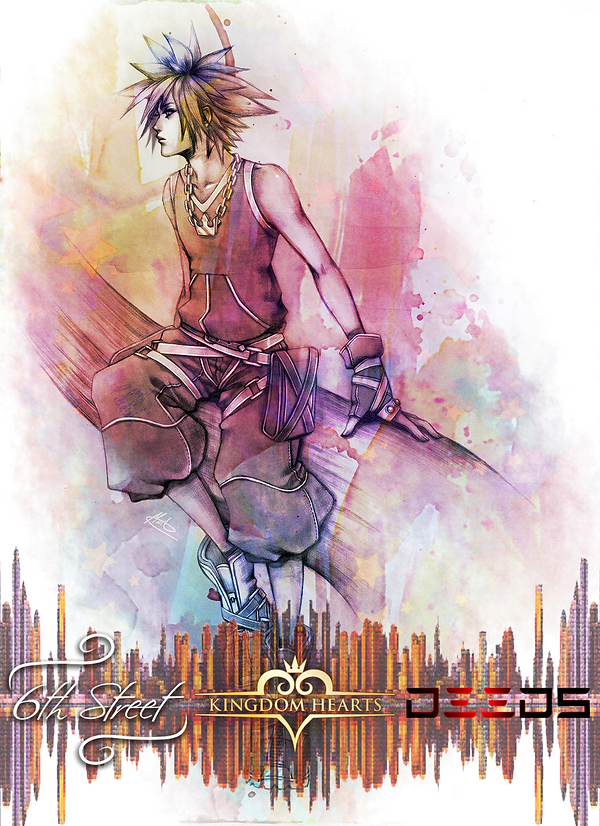 6th Street x Deeds KH3 Cover Banner (wit