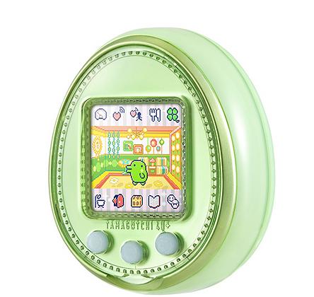 Tamagotchi 4U+ lime green
