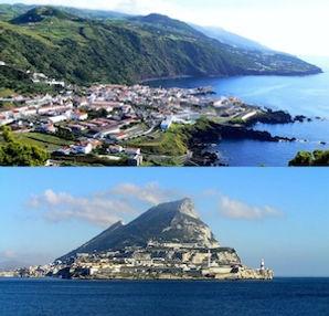 круиз от по Атлантике от Азорских островов до Гибралтара.