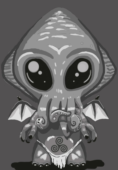 Baby Cthulhu Front