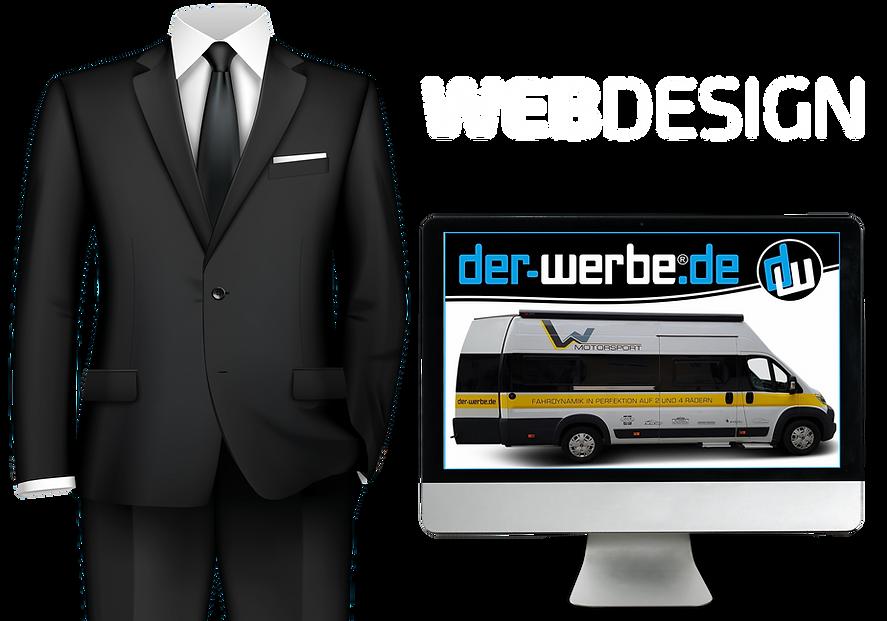 WEBDESIGN-DER-WERBE-ANZUG.MONITOR TRANSP
