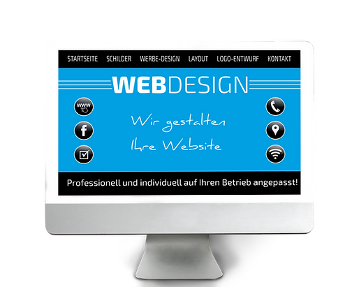 WEBdesign WEBsite Monitor der-werbe hi_t