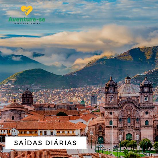 Cusco, Vale Sagrado dos Incas e Machu Picchu