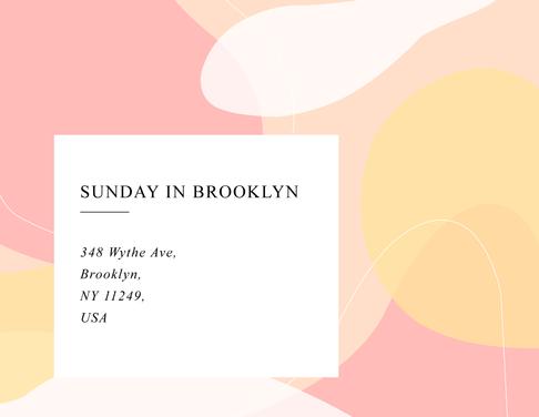 Mock - Sunday in Brooklyn
