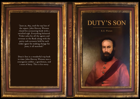 Book Cover for Duty's Son by K.G. Watson