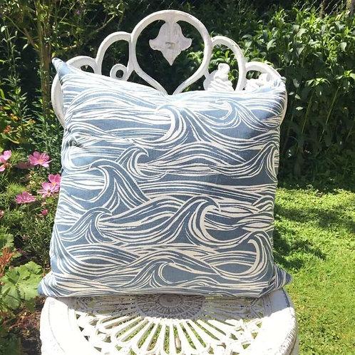Nautical Wave Cushion