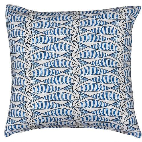 Blue 'Sardine' Cushion