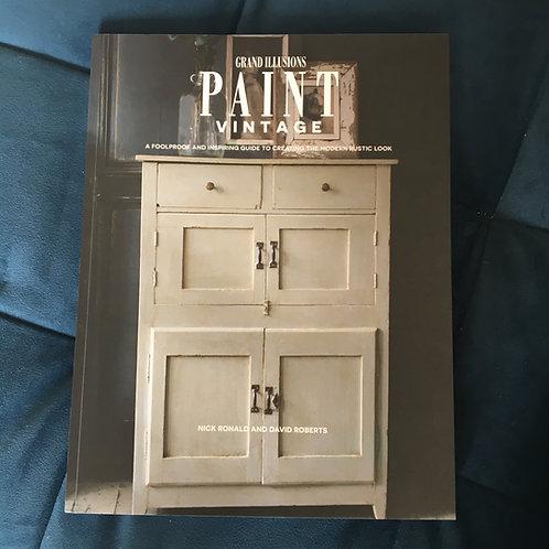 Grand Illusions Paint Vintage Book