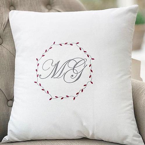 Large Monogrammed Cushion