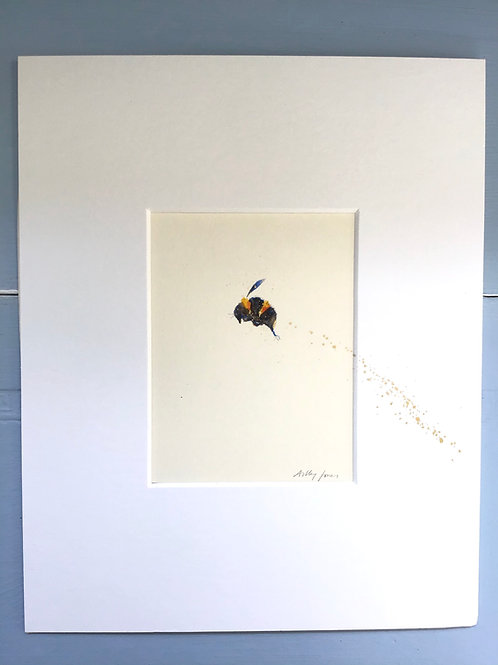 Hand Painted Bumble Bee Paintings
