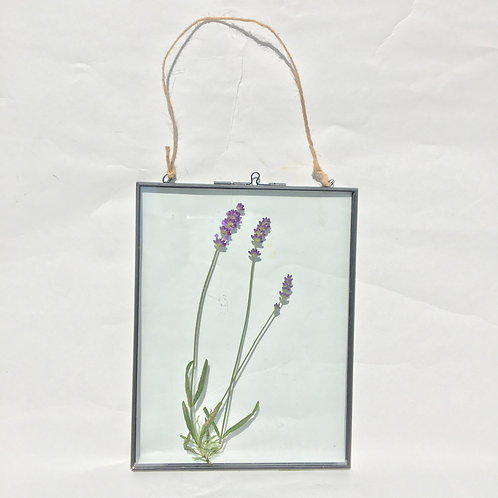 Lavender Metal Picture Frame