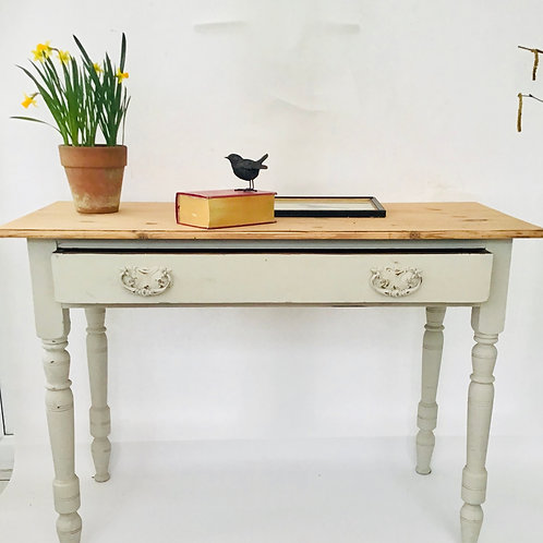 White Vintage Painted Table