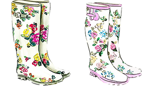 kisspng-shoe-wellington-boot-drawing-ill