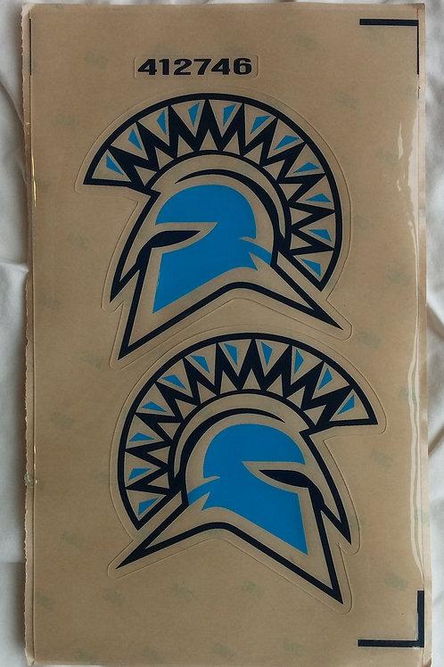 Spartan Head Sticker