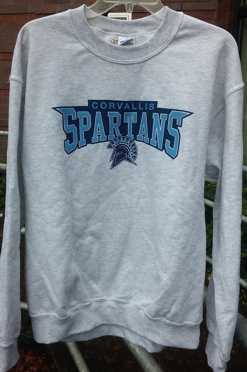 Spartan Logo Crew Neck Sweatshirt