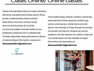 Nuevas clases Online!!