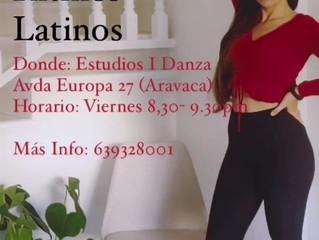 Nuevas clases de ritmos latinos y merengue en Estudio 1