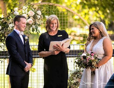 Christine Trenwith Marriage Celebrant Adelaide SA Glenelg Weddings