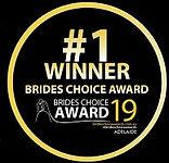 # 1 Winner Brides Choice Award 2019