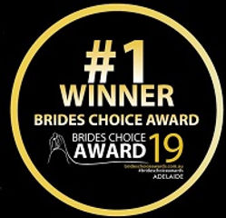 # 1 Winner Brides Choice Award 2019