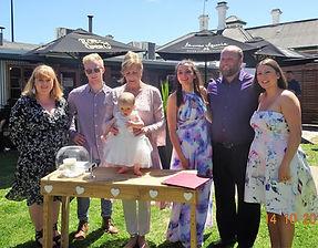 Harper's Baby Naming Ceremony