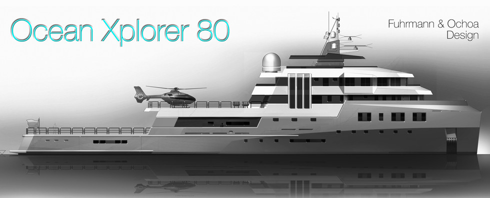 Ocean Xplorer 80 Expedition Yacht