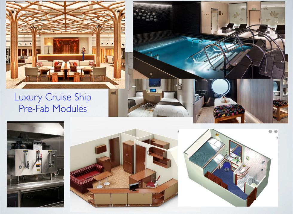 Ocean Xplorer 70 modular interior