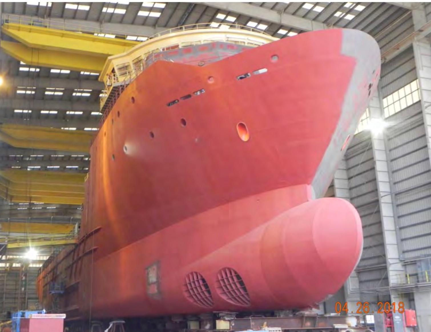 312 ft_100m Modern OSV Vessel for Conver