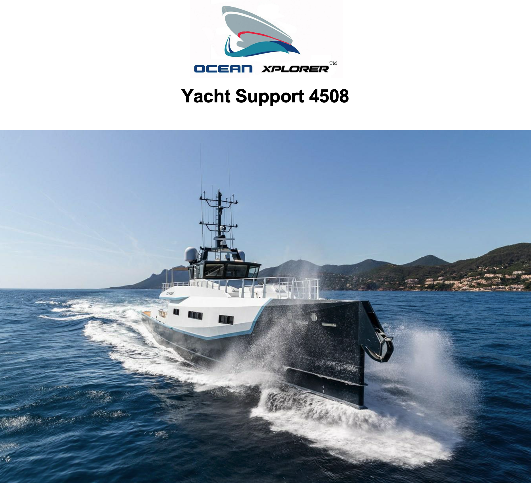 Damen 150' Yacht Support
