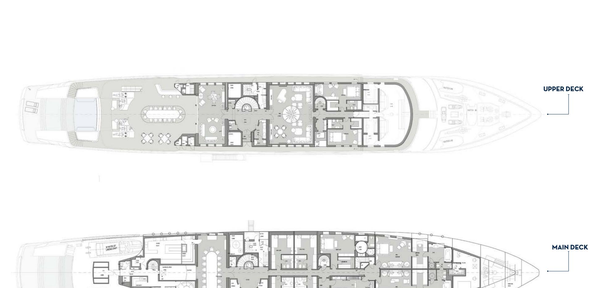 General Arrangement 80m _ 280 ft Blohm+V