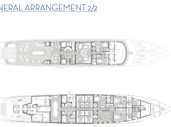 General Arrangement 80m _ 280 ft Blohm+V