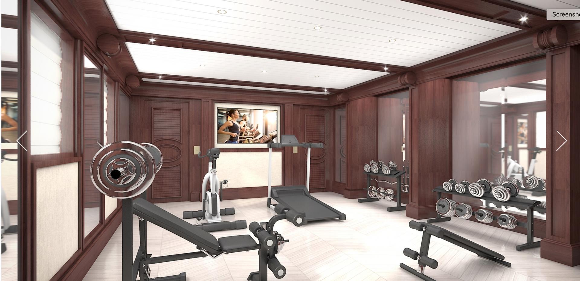 Gym 80m _ 280 ft Blohm+Voss Refit Projec
